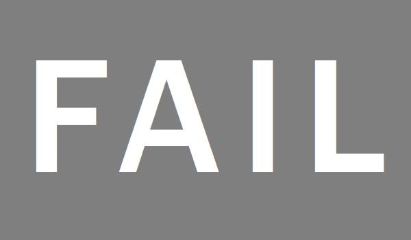 Social media campaign failure