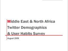 Spot On PR's MENA Twitter Demographics & User Habits Survey